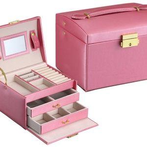 Handbags - Pink Jewelry Box 3 levels